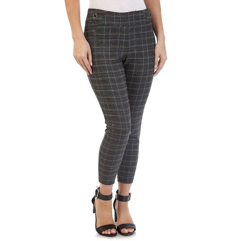 Charcoal Green Career Pants. - Sarai Afrique