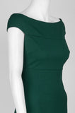 Off Green Fitted Dress - Sarai Afrique