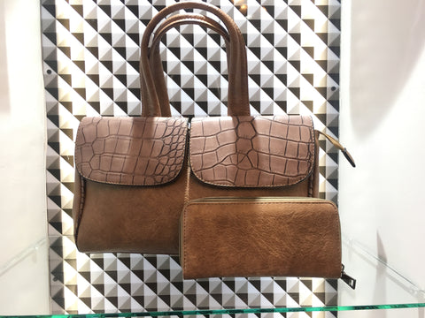 Vernika Leather Handbag - Sarai Afrique