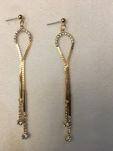 Kira Gold Earrings - Sarai Afrique