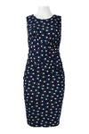 Navy White Pac Man Dress - Sarai Afrique