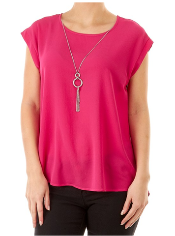 Pink Necklace Top - Sarai Afrique