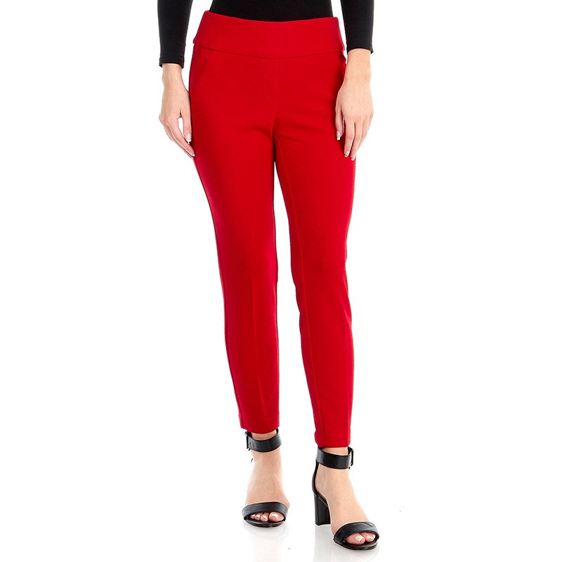 Red Cigarrete Pants - Sarai Afrique