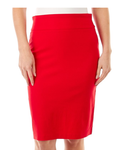 Red Pull On Skirt - Sarai Afrique