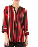 Black Red Stripped Top - Sarai Afrique