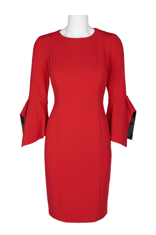 Scarlet Flare Straight Dress - Sarai Afrique