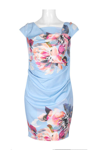 Sky Blue Multi Dress - Sarai Afrique