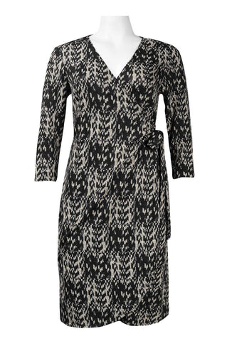Smokey Wrap Dress - Sarai Afrique