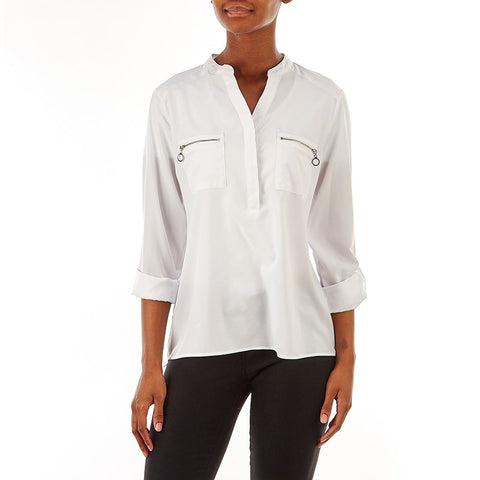 White Long Sleeved - Sarai Afrique