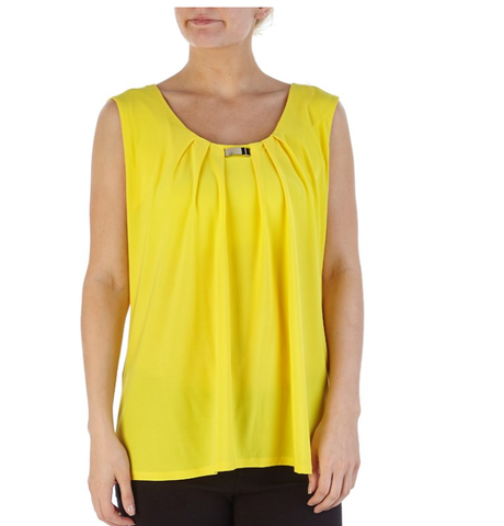 Yellow Top With Metal - Sarai Afrique