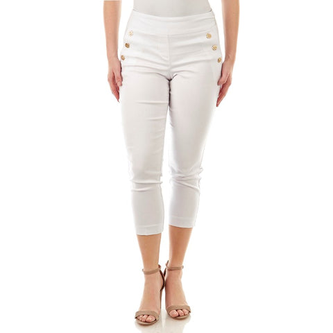 White Denim Pants - Sarai Afrique