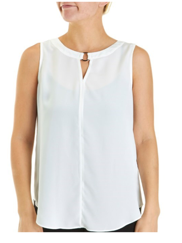 Cream Sleeveless Top - Sarai Afrique