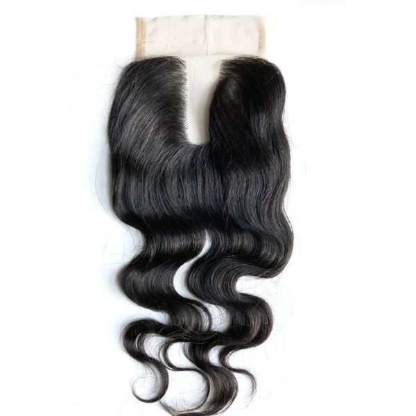 Lace Closure 4x4 U Part