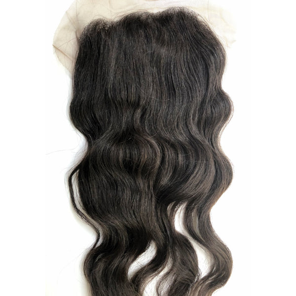 Raw Cambodian Lace Closure 6x6