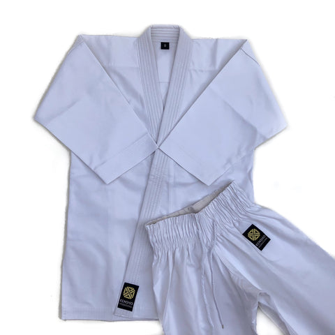 Kensho white heavyweight kata karate gi