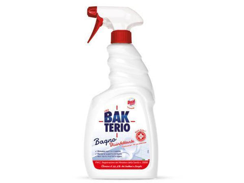 Detergente in spray Bakterio 750 ml - 6 pezzi