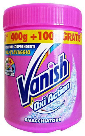 Additivo in polvere Vanish Oxi Action 500gr-12 pezzi