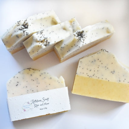 Rise and shine Artisan soap NZ