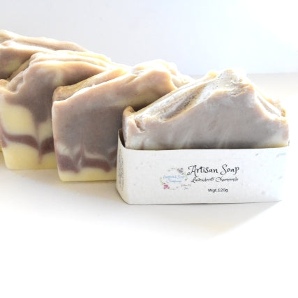Lavender and chamomile natural soap nz