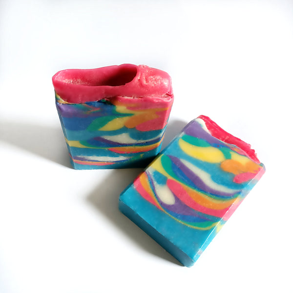 Over the rainbow Artisan soap