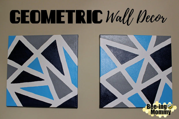 DIY Geometric Tape Painting Kit