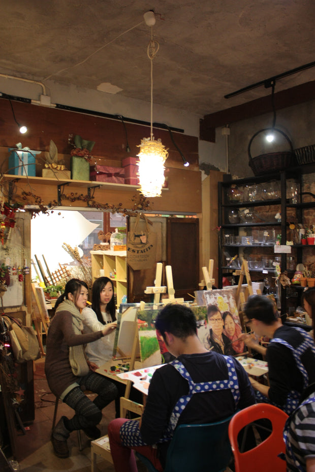 Photo-Painting Workshop 手繪相片活動