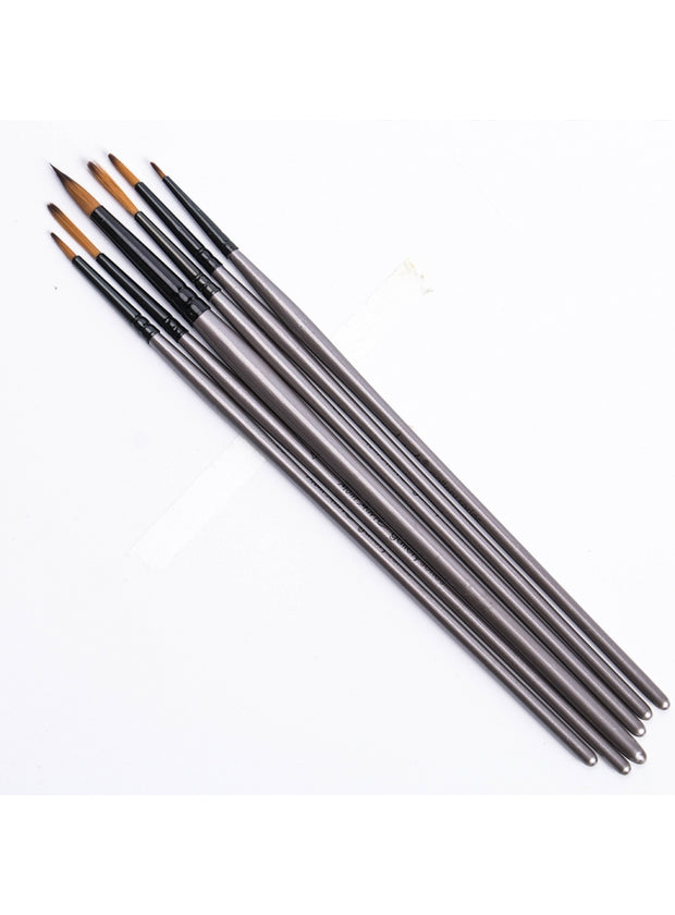 Brush Set (Detailer, Liner, Round 6 pcs) 勾線畫筆套裝 (6支裝)