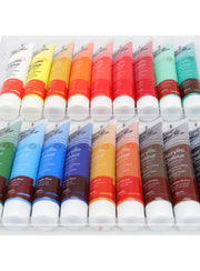 Acrylic Paint Set (18 color x 36ml) 塑膠彩套裝 (18色 x 36ml)