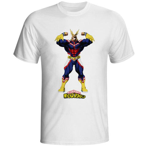 heroic all might shirt