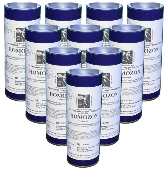 10 Homozon Canisters @$46.00 ea. - 230 Grams each - Double Strength