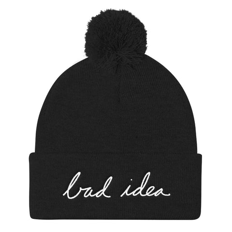 Bad Idea PomPom Beanie