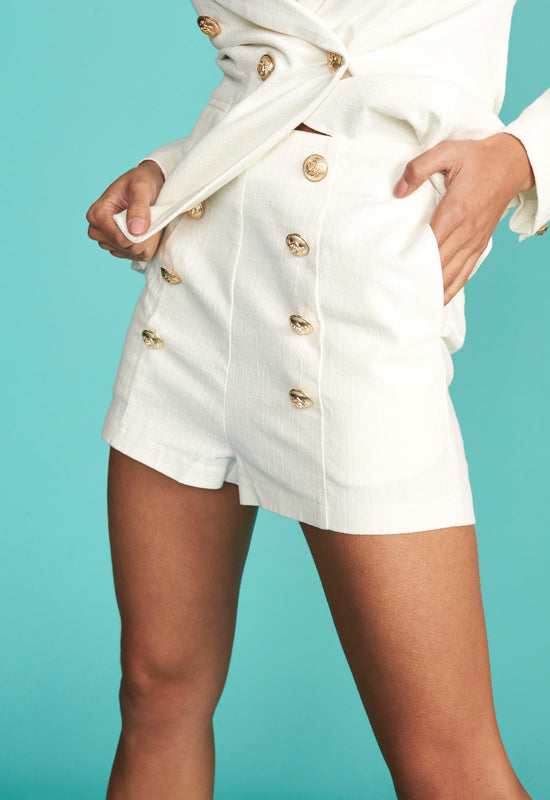 Palermo Short by Lioness - Cream