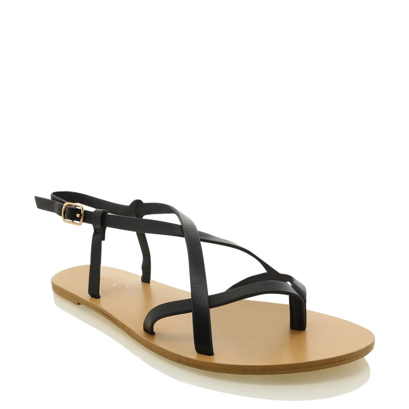 Billini Sasha Wedge - Black Nubuck