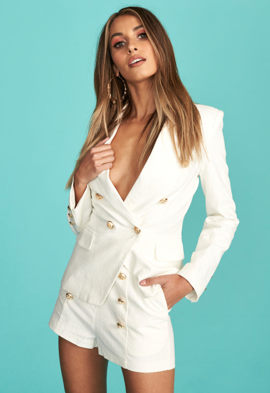 Palermo Jacket by Lioness - White