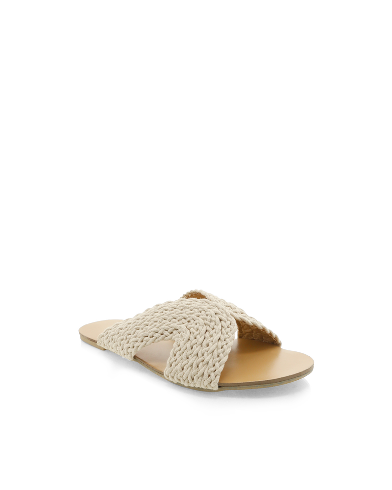Billini Astor Slide - Natural Woven