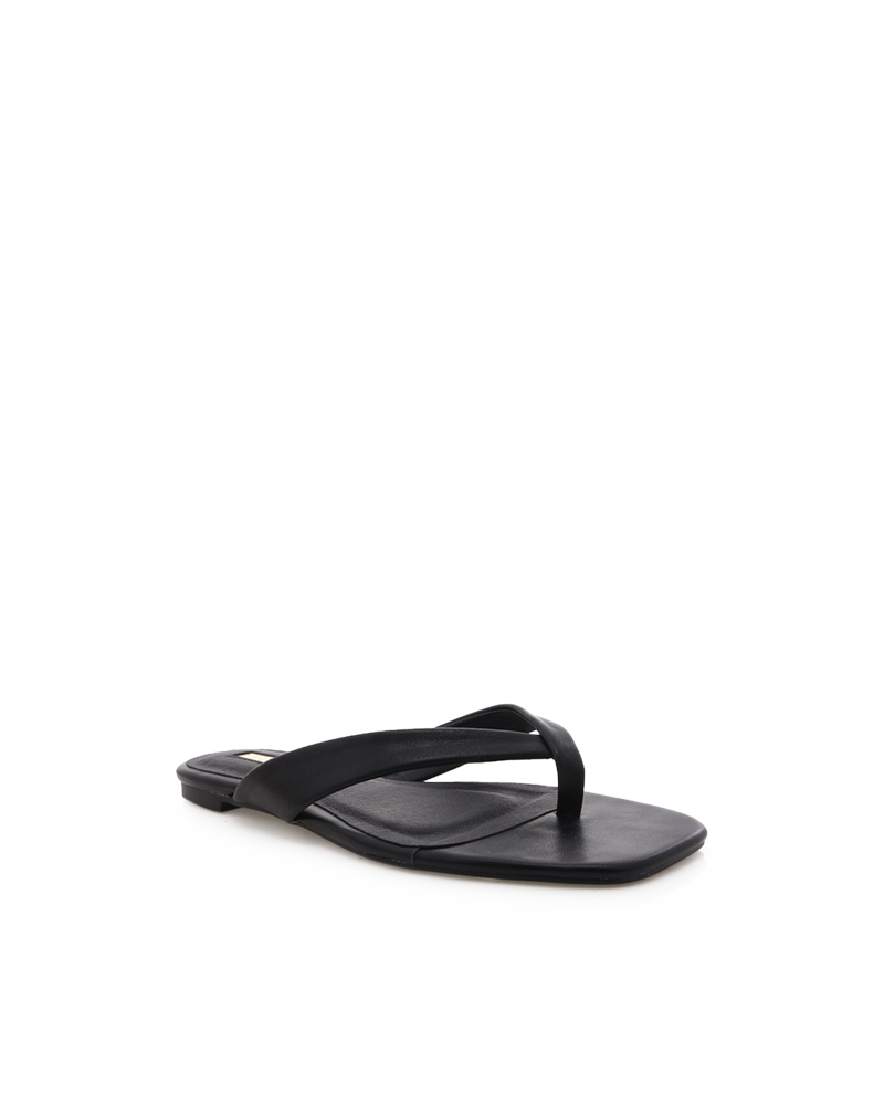 Billini Grey Thong Slide - Sugar Brown