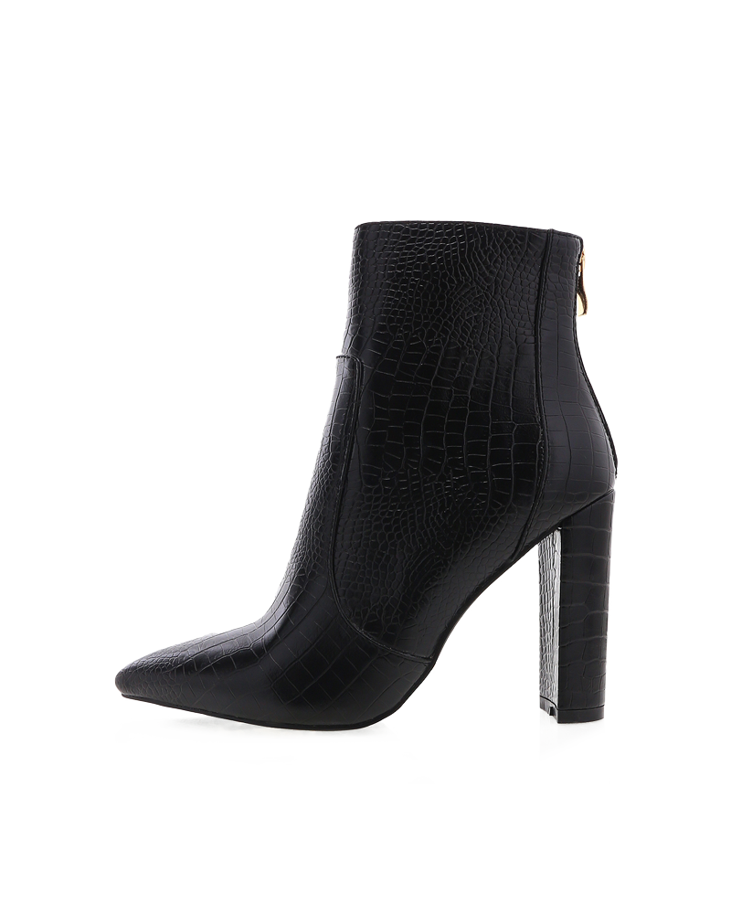 Billini Kourt Croc Boot - Black