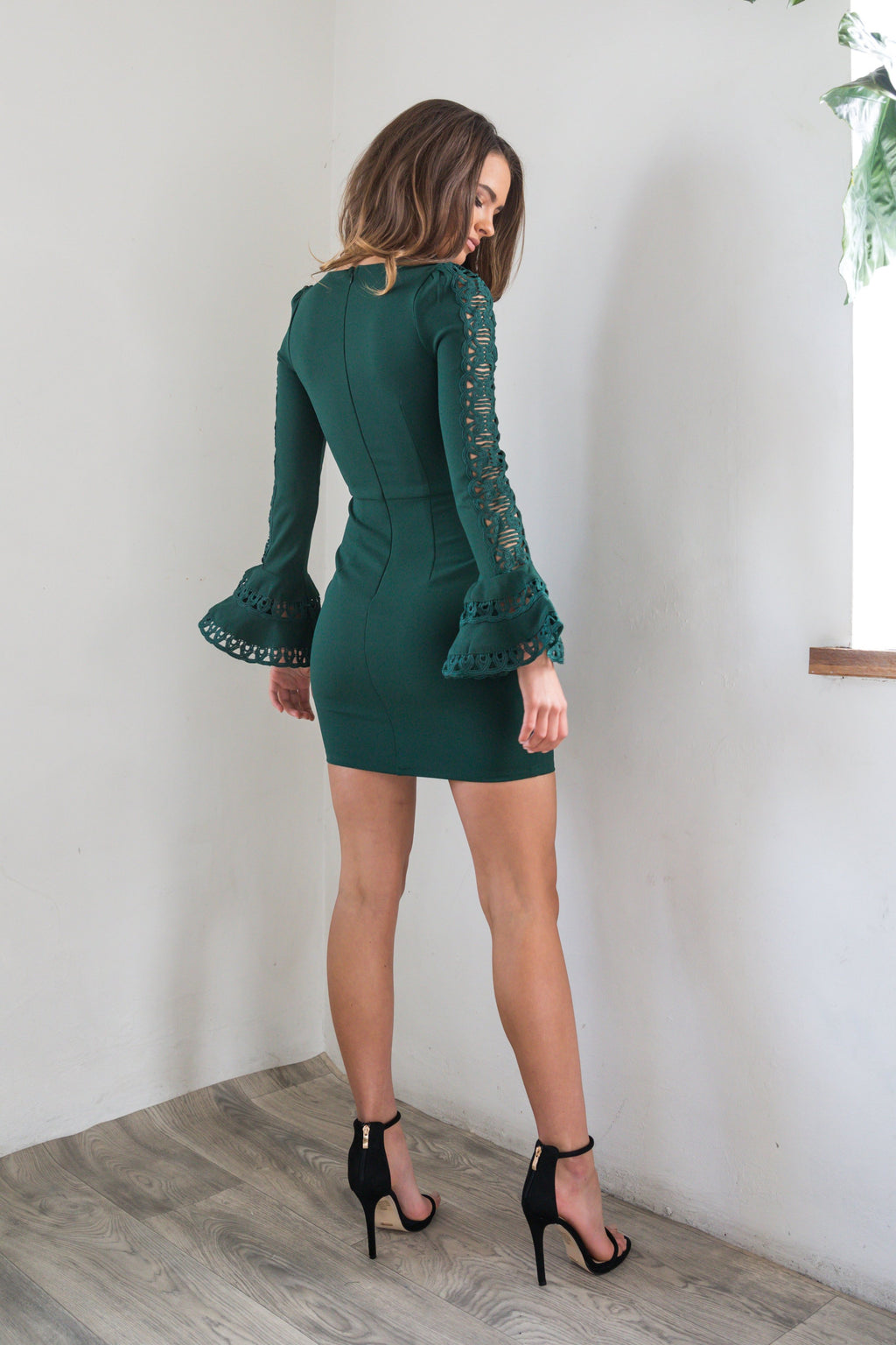 Armani Dress - Forest Green