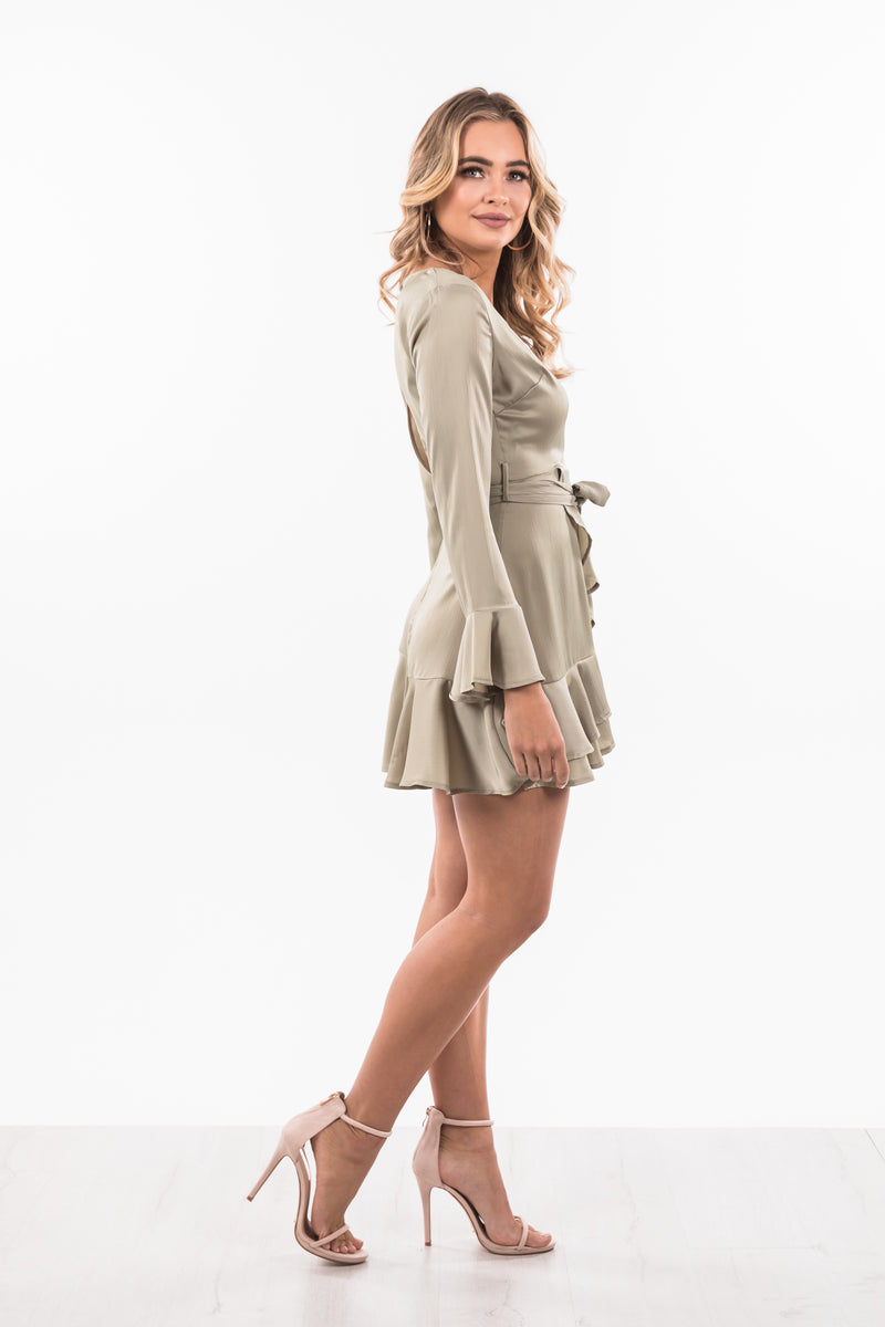 Lilly Dress - Olive