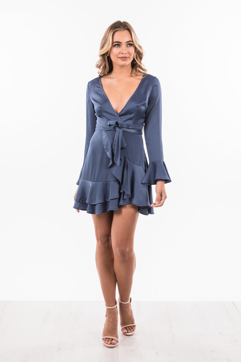Lilly Dress - Midnight Blue
