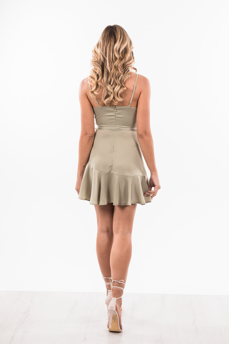 Orchid Dress - Olive