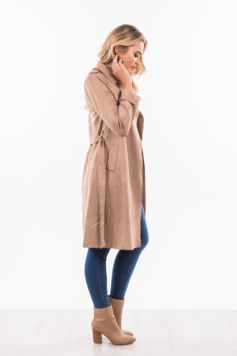 Archer Coat - Beige