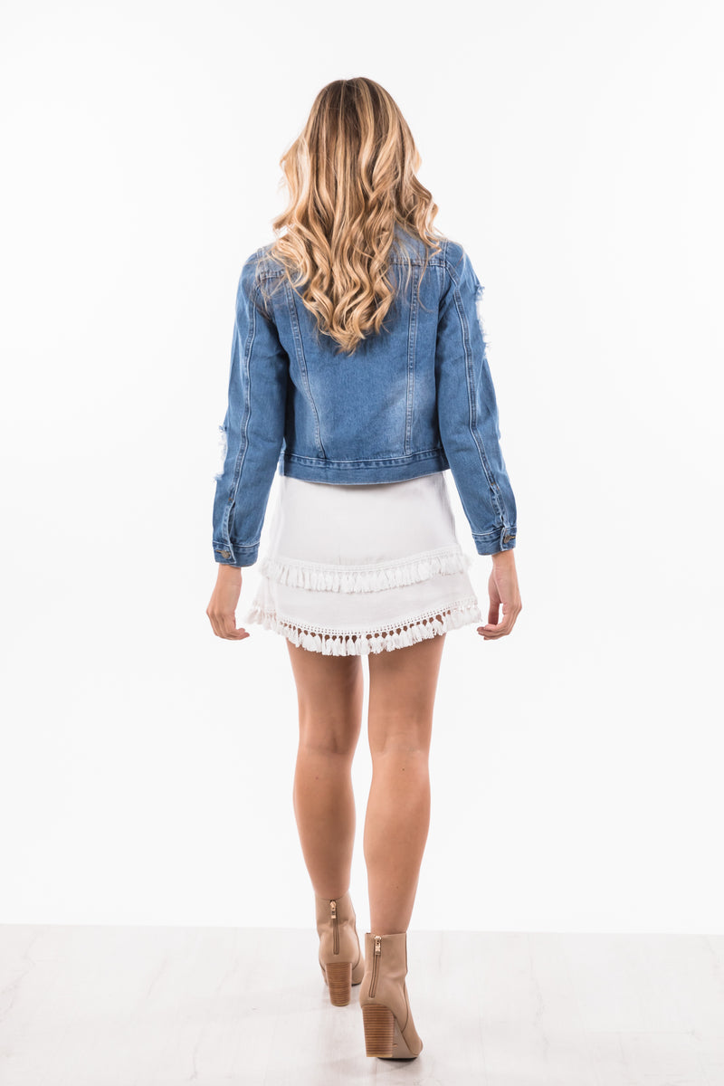 Britney Jacket - Denim