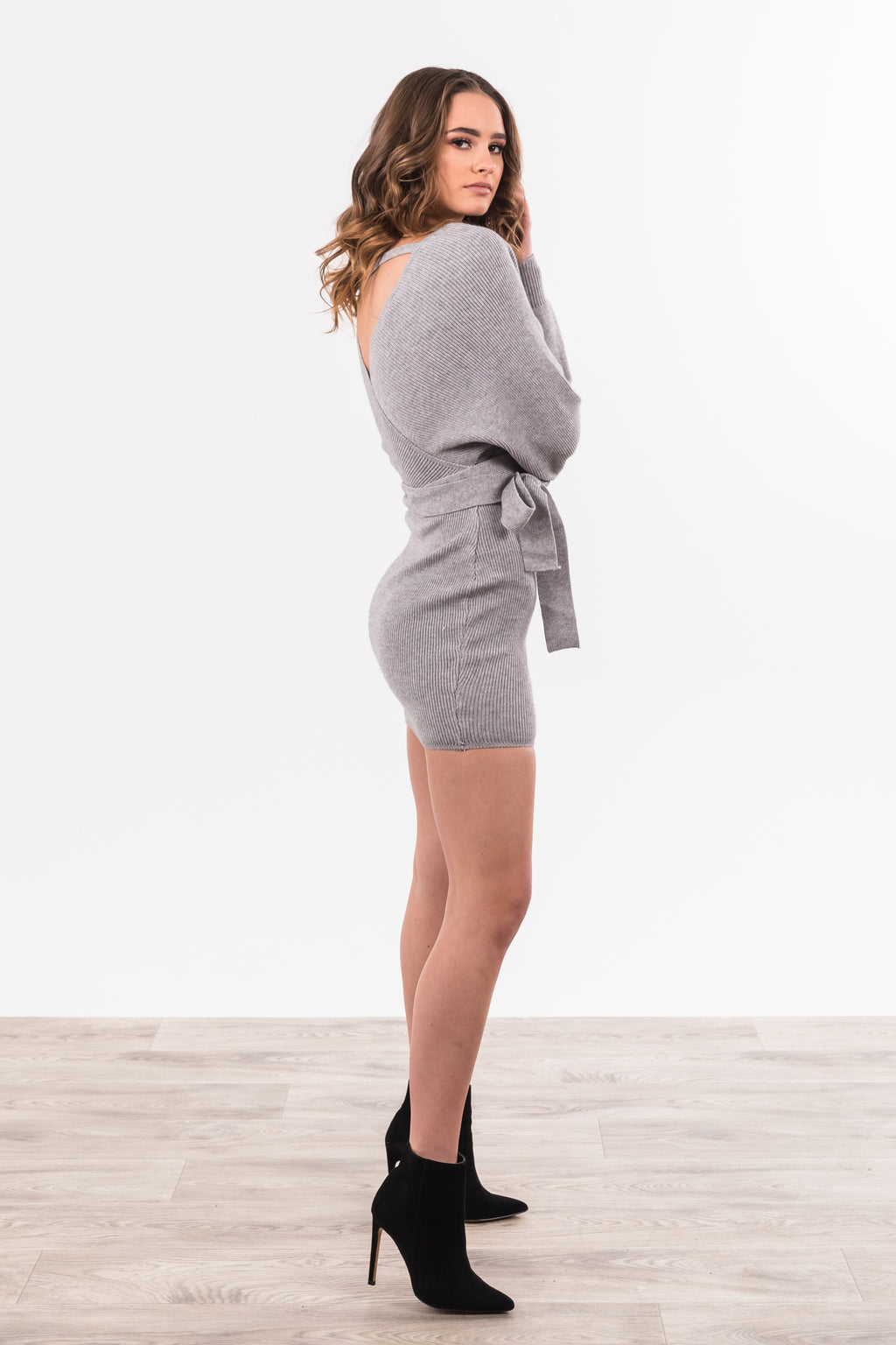 Poppy Dress - Grey