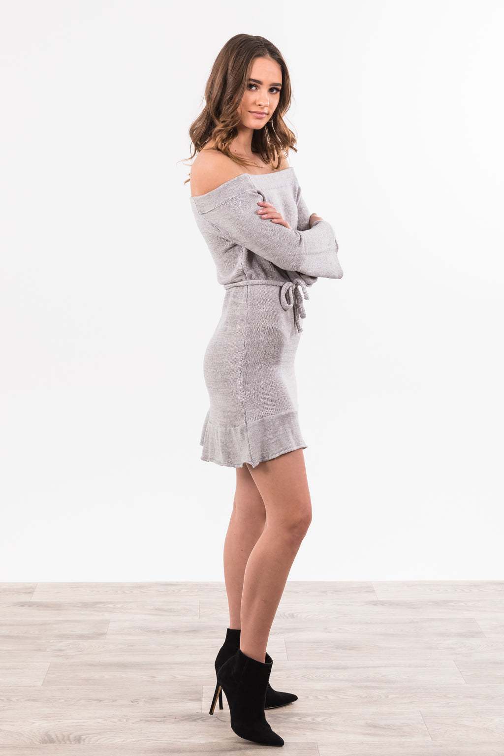Indiana Dress - Grey