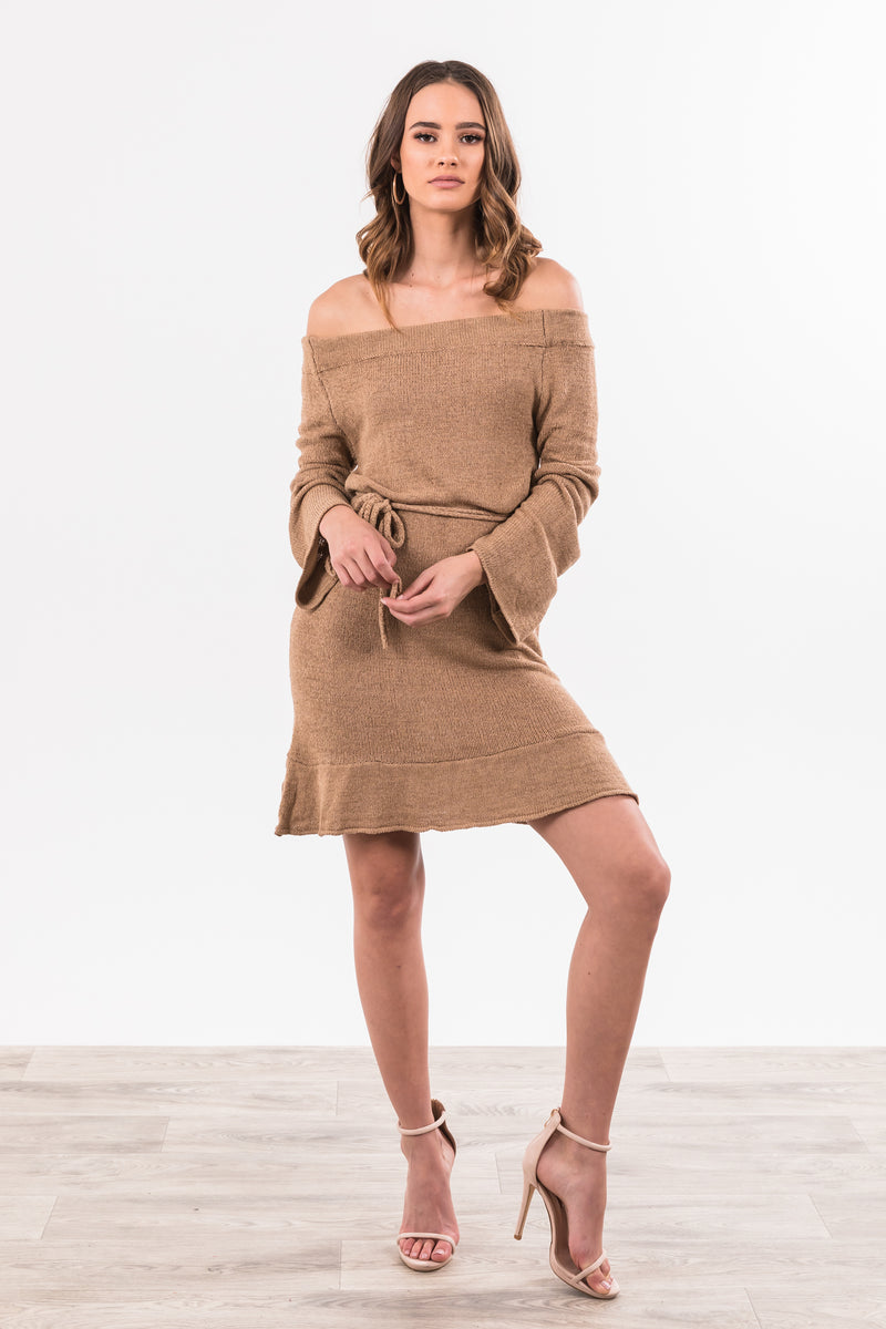 Indiana Dress - Beige