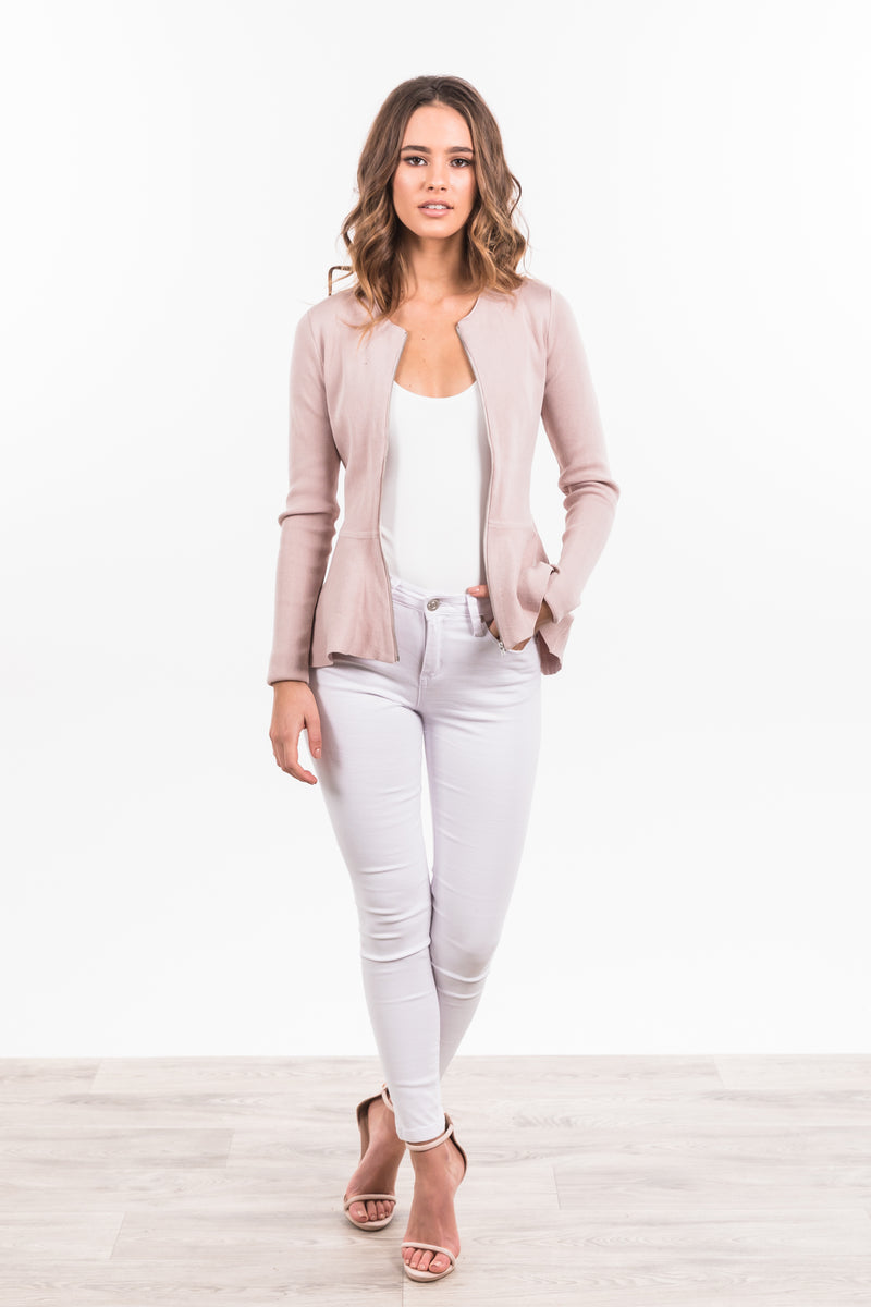 Aliyah Jumper - Dusty Pink