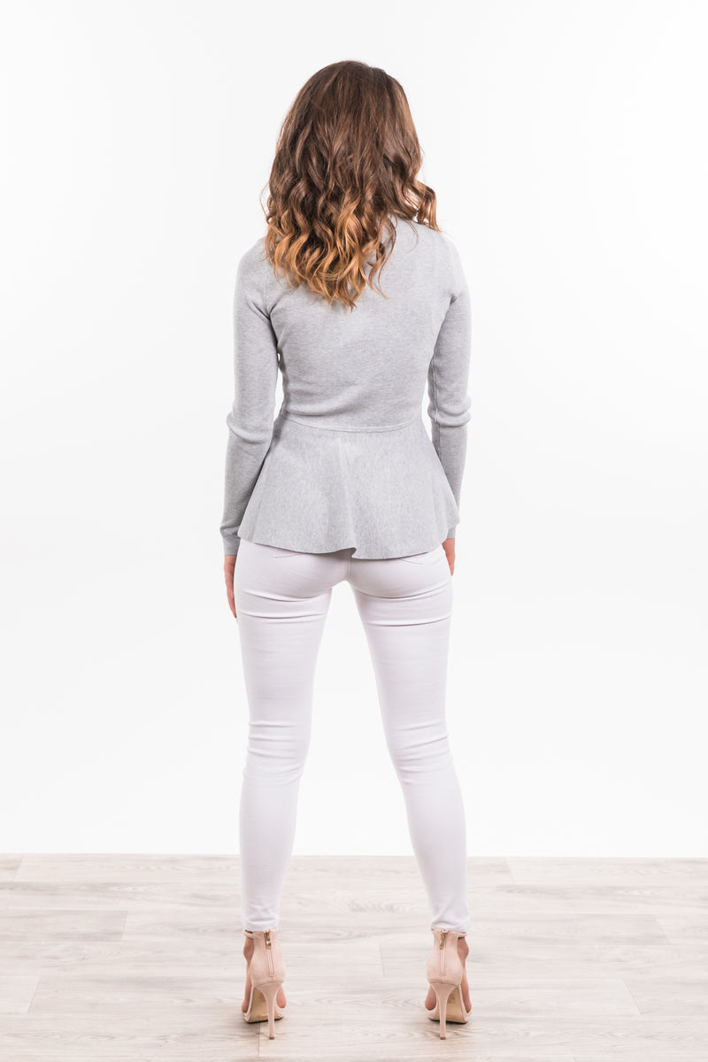 Aliyah Jumper - Grey