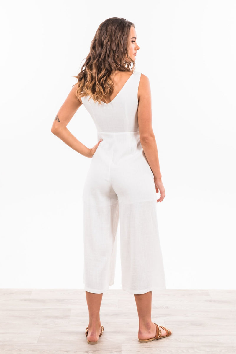 Bella Jumpsuit - White