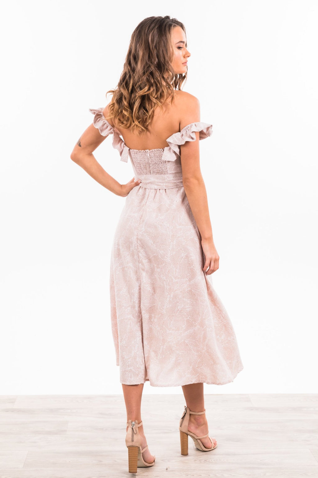 Jaida Maxi Dress - Blush